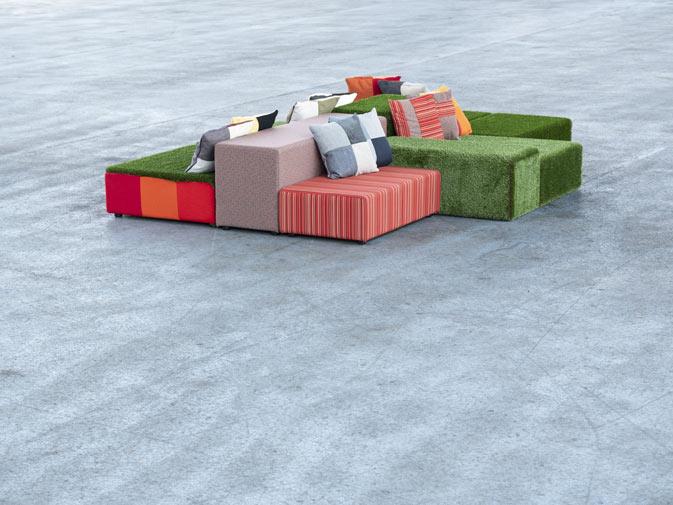 noleggio divano modulare in prato inglese