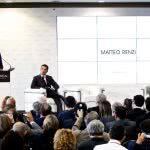 Noleggio poltrone in ecopelle per Renzi