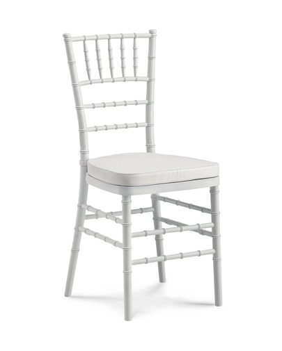 Noleggio sedia chiavarina bianca per eventi noleggiodesign for Sedia design bianca