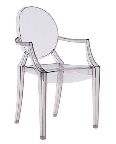 Materiale Sedie Kartell.Sedia Louis Ghost