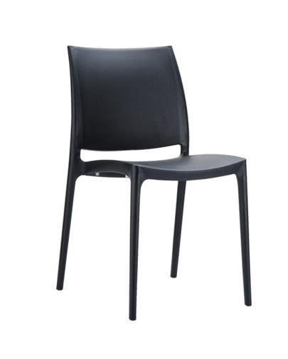 noleggio sedia maya nera