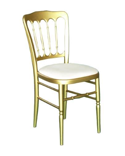 Noleggio sedia parigina dorata per eventi - NoleggioDesign
