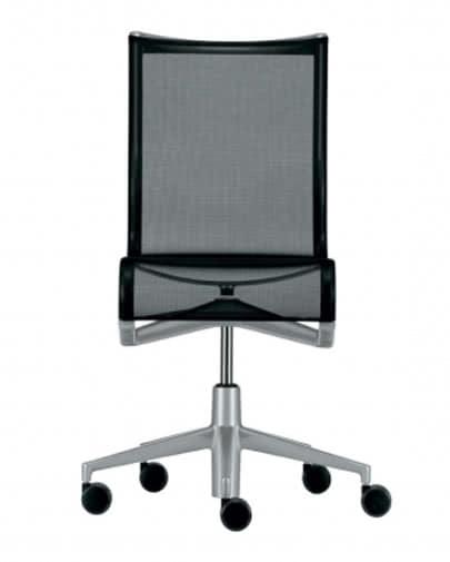 Noleggio sedia rollingframe nera di alias noleggiodesign for Sedia design nera