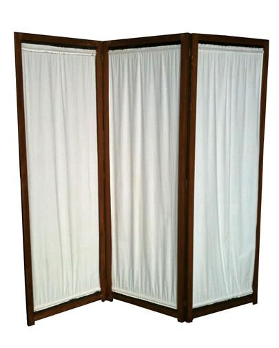 Noleggio separ in legno e tessuto per eventi noleggiodesign for Separe in legno per interno