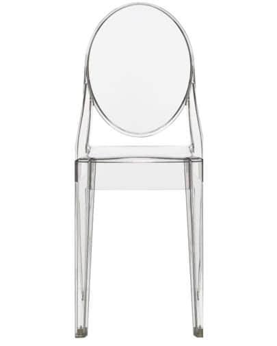 Noleggio sedia Victoria Ghost di Kartell per eventi - NoleggioDesign